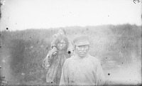 view Family from Shaktolik Village in Native Dress 1877 digital asset number 1