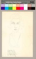 view Ruth Landes papers digital asset: Self Portrait, Ruth Landes (1991)