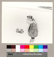 view Photographs of Dakota: Santee handbag and toy moccasins, undated digital asset number 1