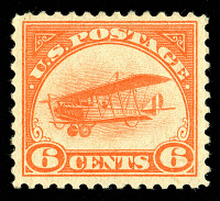 view 6c Curtiss Jenny single digital asset number 1