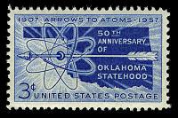 view 3c Oklahoma Statehood single digital asset number 1