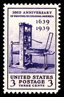 view 3c Printing Tercentenary Stephen Daye press single digital asset number 1