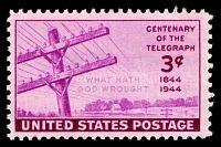 view 3c Telegraph Centenary single digital asset number 1