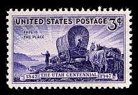 view 3c Centenary of Settlement of Utah single digital asset number 1