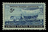 view 5c Swedish Pioneer Centennial single digital asset number 1