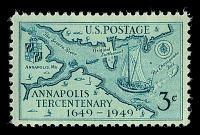 view 3c Annapolis Tercentenary single digital asset number 1