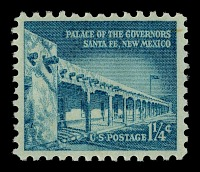 view 1.25c Palace of the Governors single digital asset number 1