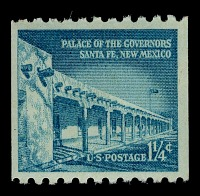 view 1.25c Palace of the Governors vertical coil single digital asset number 1