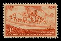 view 3c Kansas Territorial Centennial single digital asset number 1