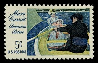 """view 5c Mary Cassatt """"The Boating Party"""" single digital asset number 1"""
