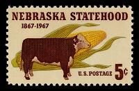 view 5c Nebraska Statehood single digital asset number 1