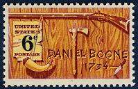 view 6c Daniel Boone single digital asset number 1