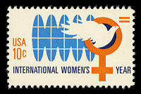 view 10c International Women's Year single digital asset number 1