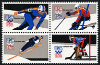 view 15c Olympic Games block of four digital asset number 1