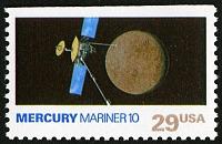 view 29c Mercury and Mariner 10 single digital asset number 1