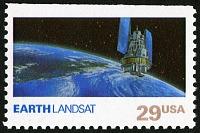 view 29c Earth and Landsat single digital asset number 1