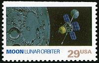view 29c Moon and Lunar Orbiter single digital asset number 1
