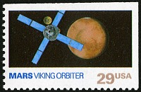 view 29c Mars and Viking Orbiter single digital asset number 1