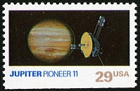 view 29c Jupiter and Pioneer 11 single digital asset number 1