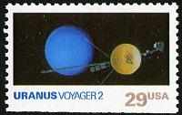 view 29c Uranus and Voyager 2 single digital asset number 1