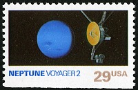 view 29c Neptune and Voyager 2 single digital asset number 1