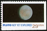 view 29c Pluto single digital asset number 1