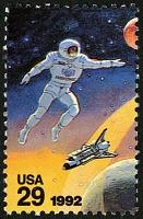 view 29c Cosmonaut single digital asset number 1