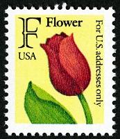 view F rate (25c) Flower single digital asset number 1