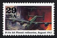 view 29c B-24s hit Ploesti Refineries single digital asset number 1
