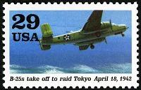 view 29c B-25's Taking Off To Raid Tokyo single digital asset number 1
