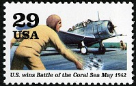 view 29c US Wins Battle of the Coral Sea single digital asset number 1