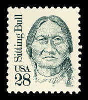view 28c Sitting Bull single digital asset number 1