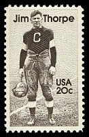 view 20c Jim Thorpe single digital asset number 1