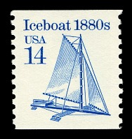 view 14c Iceboat single digital asset number 1