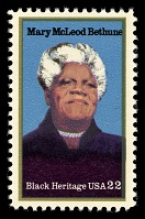 view 22c Mary McLeod Bethune single digital asset number 1