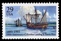 view 29c Columbus Landing in Puerto Rico single digital asset number 1