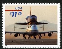 view $11.75 Piggyback Space Shuttle single digital asset number 1