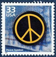 view 33c Peace Symbol single digital asset number 1