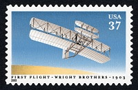 view 37c Orville Wright Piloting 1903 Wright Flyer single digital asset number 1