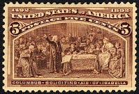 view 5c Columbus Soliciting Aid from Queen Isabella single digital asset number 1