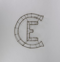 view <I>Wire frame, Christian Endeavor emblem</I> digital asset number 1