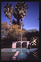 view [Broadley Garden]: swimming pool. digital asset: [Broadley Garden]: swimming pool.: 1989 Mar.