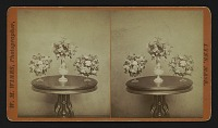 view [three vases on a table] digital asset: [three vases on a table]