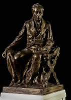 view Model for Seated Statue of James Smithson digital asset number 1