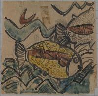 view Fish Design for a Ceramic Plate digital asset number 1