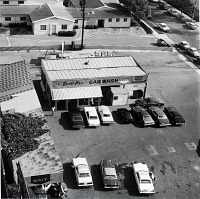 view Grand Prix Car Wash, Long Beach, California, from the Long Beach Documentary Survey Project digital asset number 1