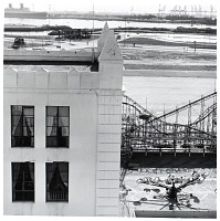 view Ocean Center Building and the Pike, Long Beach, California, from the Long Beach Documentary Survey Project digital asset number 1