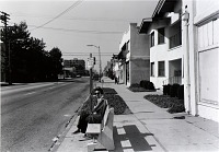 view Public Transit Areas, 4th St. and Olive, Looking North, from the Long Beach Documentary Survey Project digital asset number 1