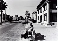 view Public Transit Areas, Olive Ave. and 7th St., Looking North, from the Long Beach Documentary Survey Project digital asset number 1