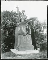 view World War I War Memorial, [sculpture] / (photographed by Peter A. Juley & Son) digital asset number 1